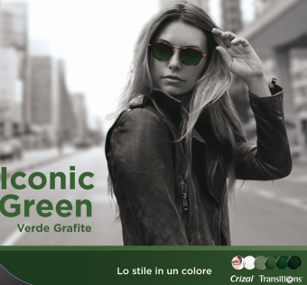 Iconic Green Verde Grafite